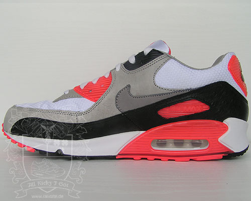 separation shoes ad50f 88cd8 NIKE AIR MAX 90 PREMIUM - Infrared Ostrich